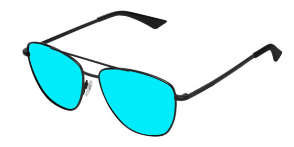 Hawkers Black Clear Blue Flat Lax
